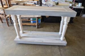 Reclaimed Wood Sofa Table