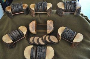 Pine Coaster Set